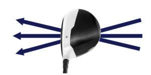 Ścieżka główki kija golfowego