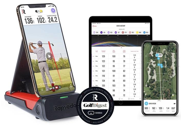 Rapsodo mobilny radar golfowy