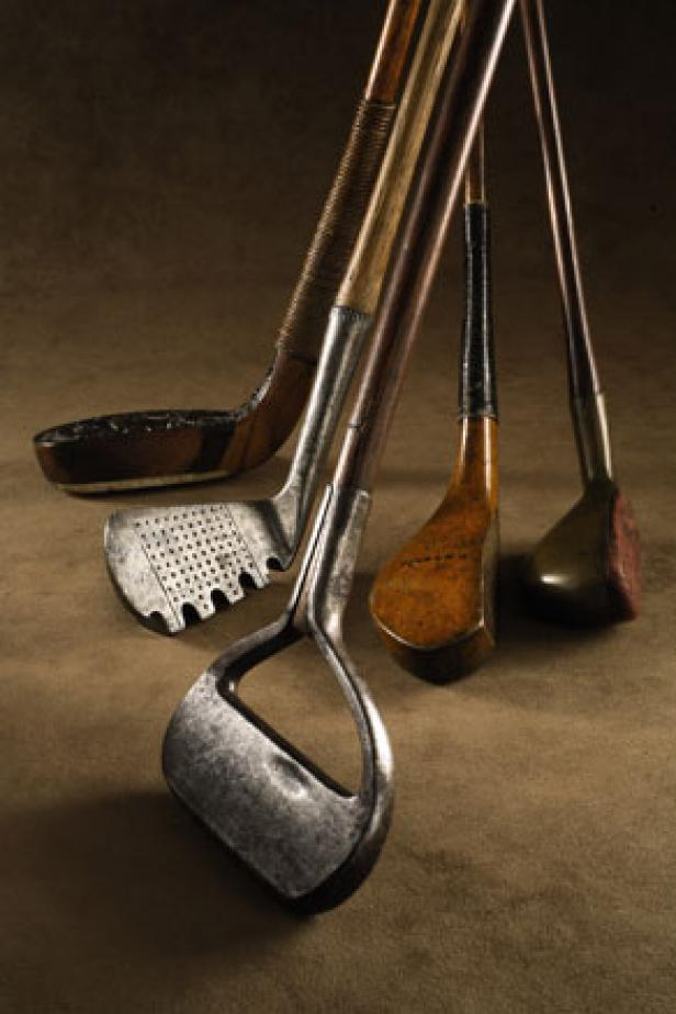 stare kije golfowe