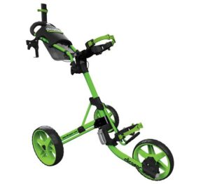 Manualny trójkołowy wózek golfowy – stabilny i prosty w obsłudze