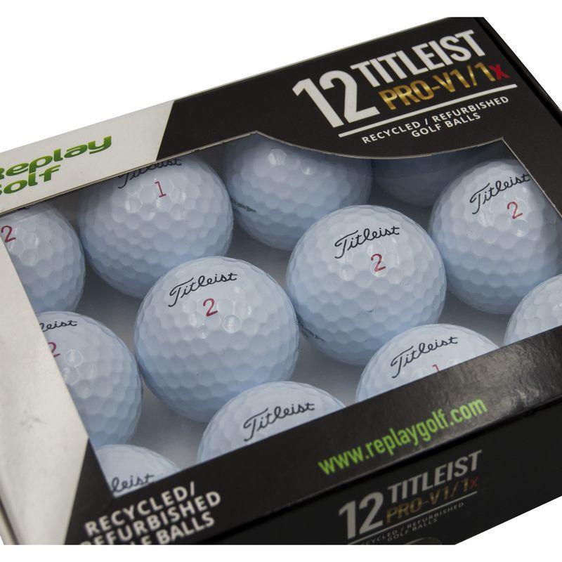 Zestawy używanych piłek golfowych