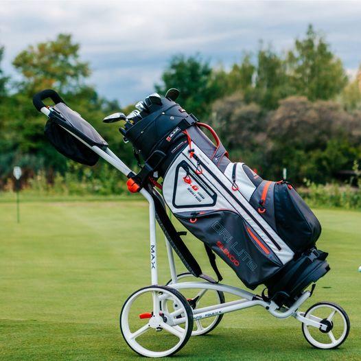 Big Max wózki do golfa jak użytkować