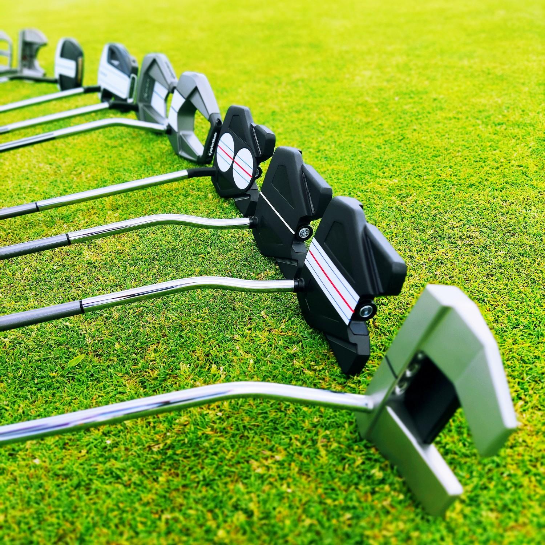 test kijów golfowych mallet putter