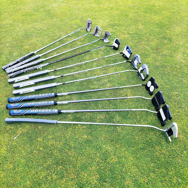kije golfowe typu mallet putter test