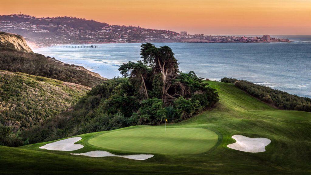 torrey pines pole golfowe