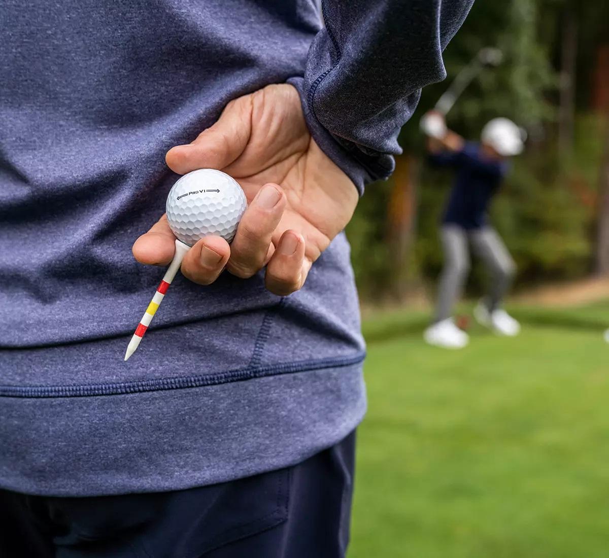 Fitting piłek do golfa