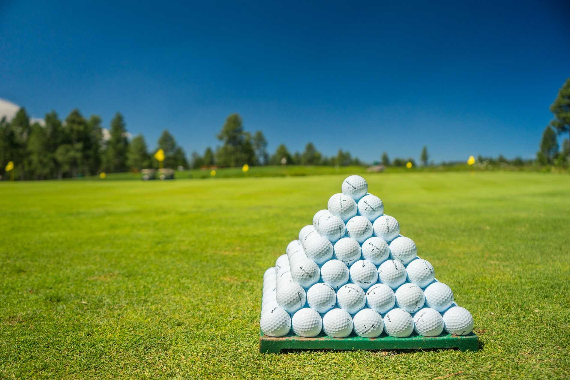 piłki do golfa pierwsza lekcja gry