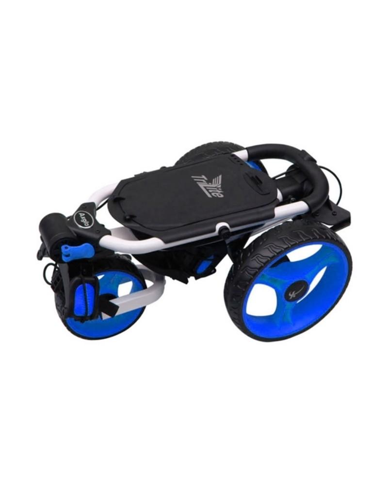 wózek golfowy axglo trilite złożony