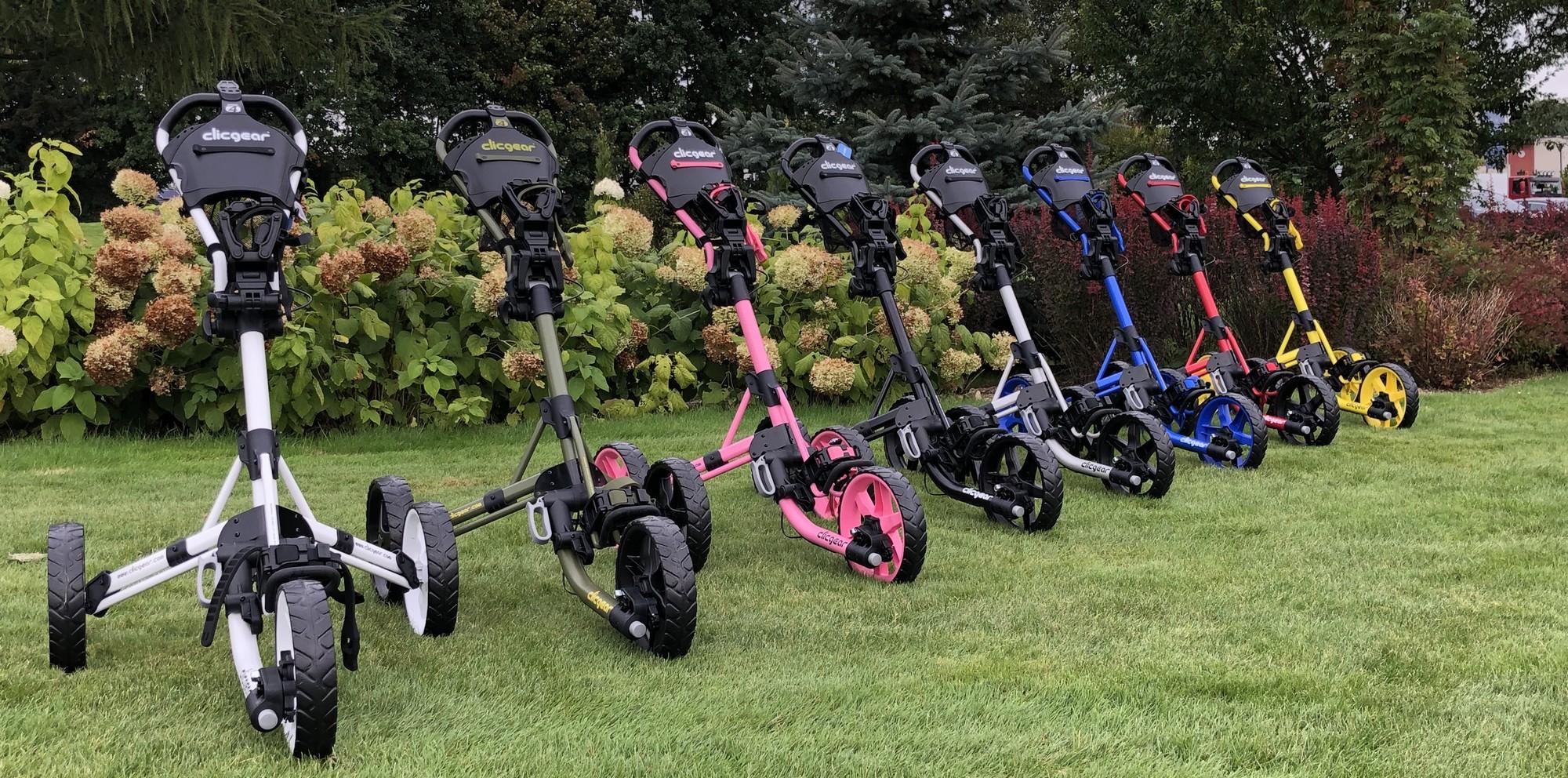 test wózków golfowych