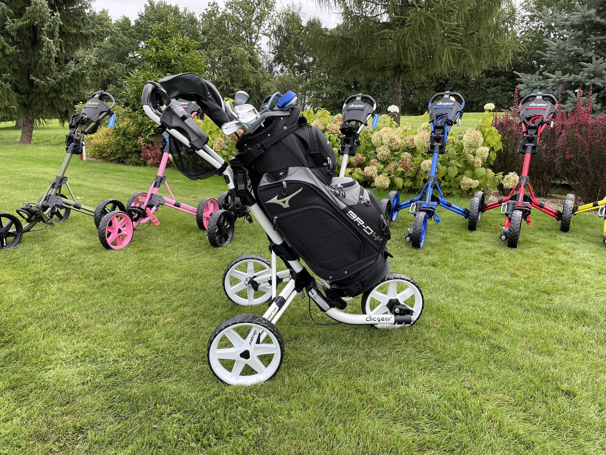 wózek do golfa clicgear torba