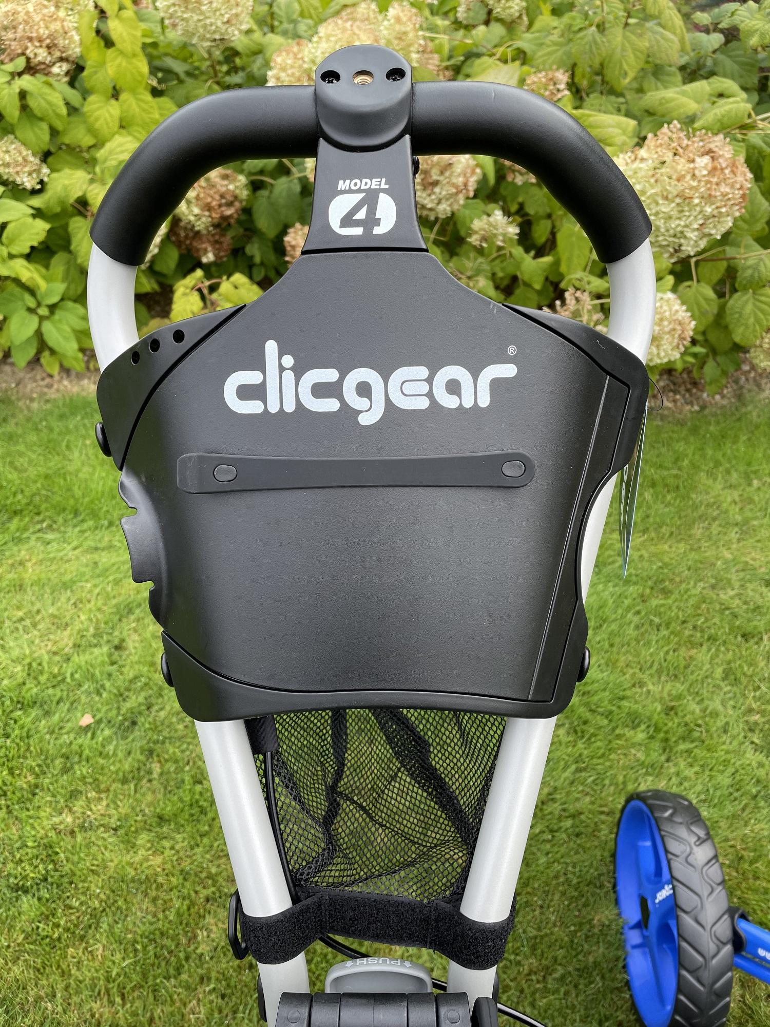 wózek golfowy clicgear panel do prowadzenia