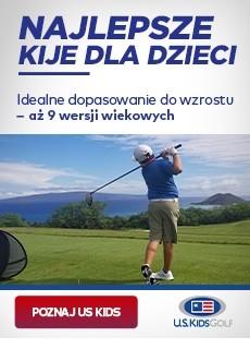 Kije golfowe dla dzieci US Kids