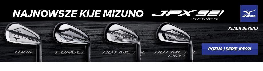 Mizuno JPX921 kije golfowe