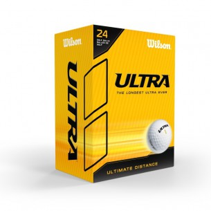 Wilson Ultra Distance 24-pack piłki golfowe