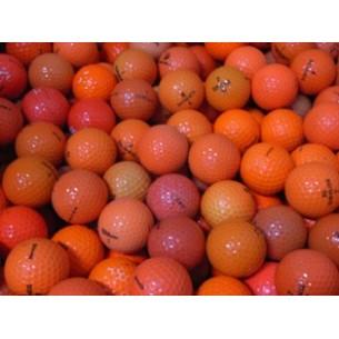 50 Pomarańczowych Piłek A/B