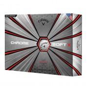 Piłki golfowe Callaway Chrome Soft X 12pack