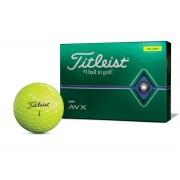 Titleist AVX yellow 12pack piłki golfowe