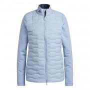 Adidas Frostguard Ladies Jacket sky blue kurtka golfowa ocieplana