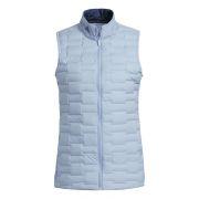 Adidas Frostguard Ladies Vest sky blue kamizelka golfowa ocieplana