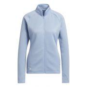 Adidas Textured Layer Jacket Ladies blue bluza ocieplana