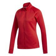 Adidas Textured Layer Jacket Ladies red bluza ocieplana