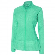 Adidas Advance Transparent Wind Full-Zip aqua kurtka damska