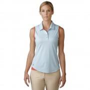 Adidas Essentials 3-Stripe blue/coral polo damskie