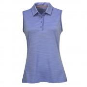 Adidas Golf Ultimate 365 Sleeveless Polo lavender marl koszulka golfowa