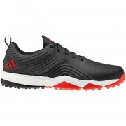 Adidas AdiPower 4ORGED S black/white/red buty golfowe