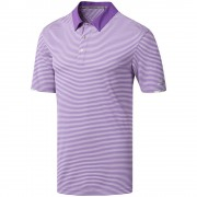 Adidas Climachill Tonal Stripe Purple koszulka polo