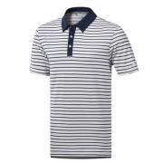 Adidas Climachill 3-Color Stripe Polo koszulka golfowa