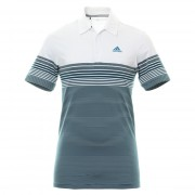 Adidas Golf Ultimate 365 Gradient Block Stripe LC collegiate navy koszulka polo