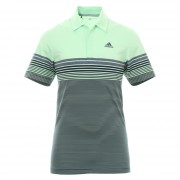 Adidas Golf Ultimate 365 Gradient Block Stripe LC grow green koszulka polo