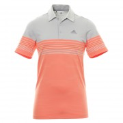 Adidas Golf Ultimate 365 Gradient Block Stripe LC hi-res coral koszulka polo