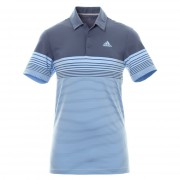 Adidas Golf Ultimate 365 Gradient Block Stripe LC tech ink koszulka polo