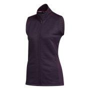 Adidas COLD.RDY Ladies Vest purple kamizelka golfowa ocieplana