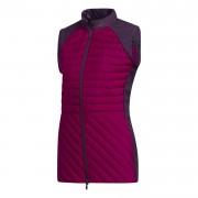 Adidas Frostguard Ladies Vest burgundy kamizelka golfowa ocieplana