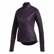 Adidas Hybrid Quilted Ladies Jacket purple kurtka golfowa ocieplana