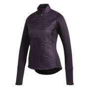 Adidas Hybrid Quilted Ladies Jacket purple kurtka golfowa ocieplana