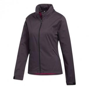 Adidas Rain.RDY Ladies Jacket purple kurtka przeciwdeszczowa