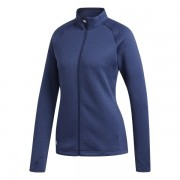 Adidas Textured Layer Ladies Jacket navy bluza ocieplana