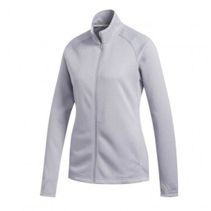 Adidas Textured Layer Jacket Ladies white bluza ocieplana