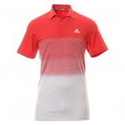 Adidas Ultimate 365 1.1 Print red koszulka golfowa