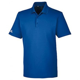 Adidas Performance Polo collegiate royal koszulka golfowa [WYPRZEDAŻ]