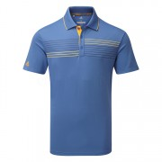 Adidas Essentials Textured Polo blue