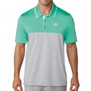 Adidas Golf Ultimate 365 Heather Polo green