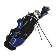 Ben Sayers M8 Blue 8-częściowy zestaw kijów golfowych (stal/grafit)