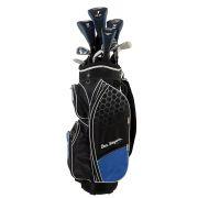 Ben Sayers M8 Blue zestaw kijów golfowych (stal/grafit)