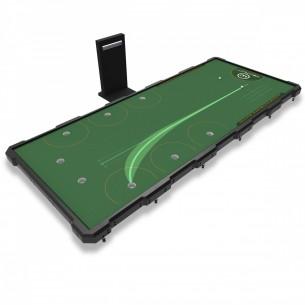Big Tilt Platform sztuczny green z regulacją pochyłości i wyświetlaniem ścieżki