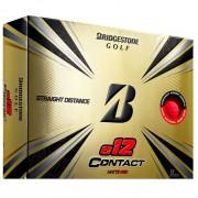 Bridgestone E12 Contact 12-pack piłki golfowe (3 kolory)